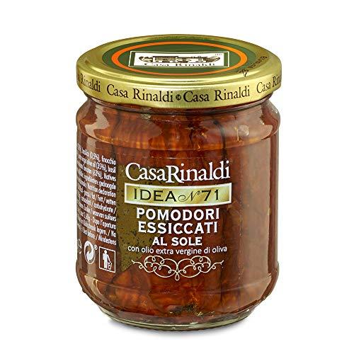 Casa Rinaldi Tomaten getrocknet in gwürztem Öl - im Glas 200g