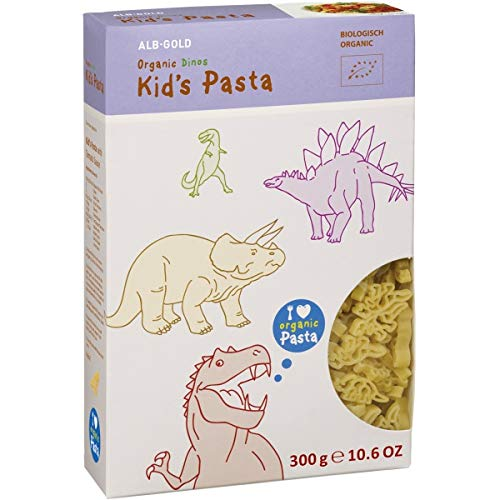 ALB-GOLD Kids-Pasta 'Dinos' (300 g) - Bio
