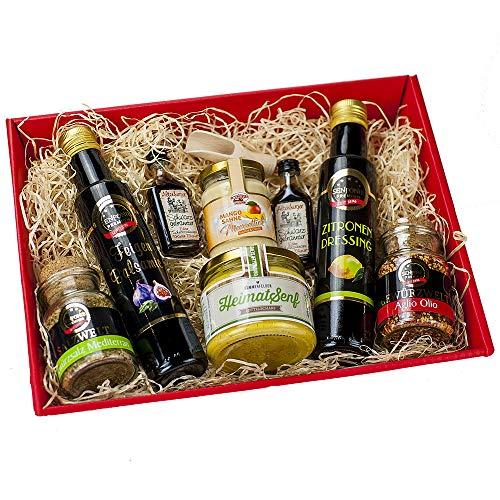 Präsentkorb für Feinschmecker gefüllt IGeschenkkorb für Männer und Frauen I...