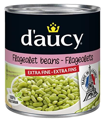 d'aucy Flageolets Extra Fin Grüne Bohnenkerne 400 Gramm