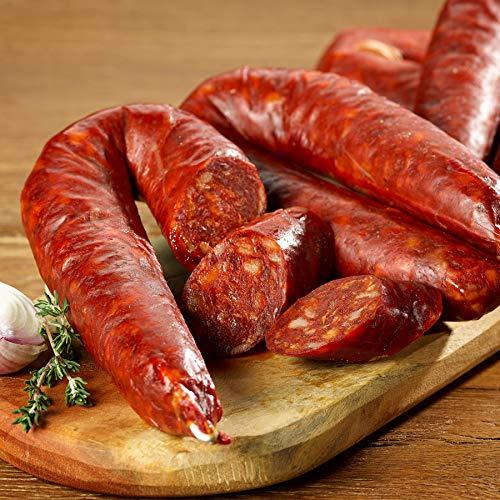 Chorizo Wurst scharf gewürzt Spanische Paprikasalami Sarta Picante 3x200g Paprikawurst...