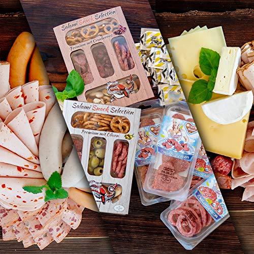 WURSTBARON® Wurst & Käse Probierpaket 4,3kg - Wurstpaket mit Wiener Würstchen, Käsekrainer,...