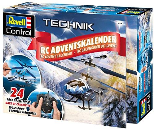 Revell Control 01020 RC Adventskalender Hubschrauber, ferngesteuerter RC Helikopter für Einsteiger...