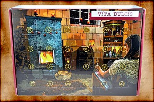 Vita Dulcis Schnaps & Likör - Adventskalender 24x0,02l + 56-seitige Broschüre