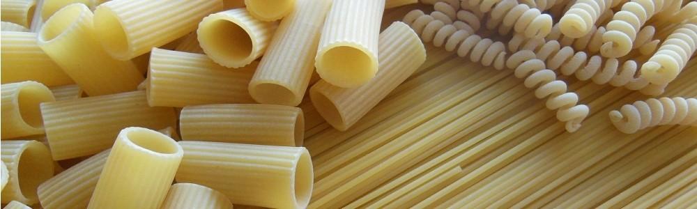 Nudeln, Pasta und Spaghetti